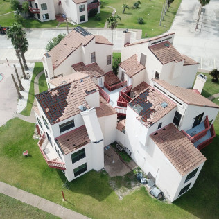 roof replacement job