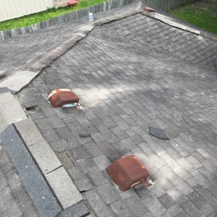 Before a roof replacement