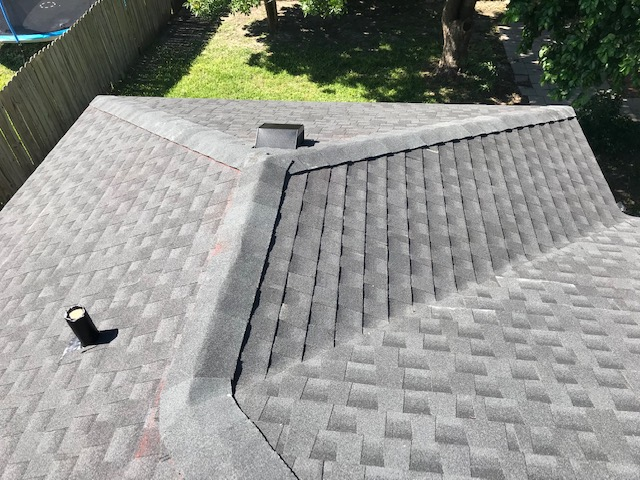 After a roof installation from Beinert Roofing & Restoration LLC